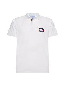 Tommy Hilfiger - Wavy Flag Regular Polo -pikeepaita - YBR WHITE | Stockmann