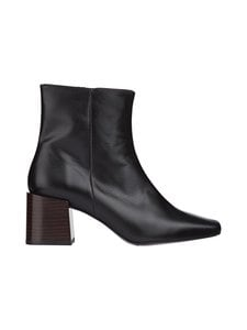 Flattered - Ida-nahkanilkkurit - 001 BLACK | Stockmann