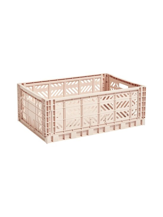 HAY - Colour Crate L -laatikko 60 x 40 x 22 cm - SOFT PINK | Stockmann - photo 1