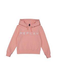 Replay & Sons - Strech Cotton Fleece -paita - 460 ANTIQUE ROSE   Stockmann