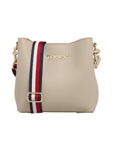 Tommy Hilfiger - Iconic Tommy Crossover -laukku - 0F4 NEUTRAL | Stockmann