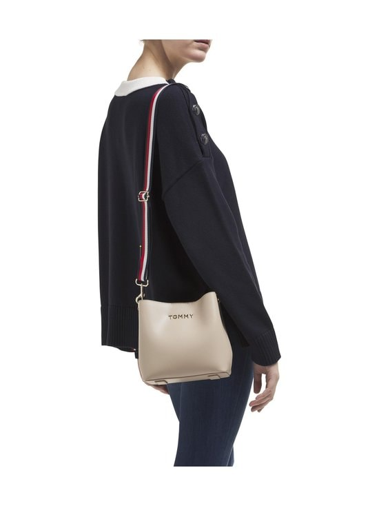 Tommy Hilfiger - Iconic Tommy Crossover -laukku - 0F4 NEUTRAL | Stockmann - photo 3