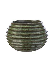 Wikholm Form - Vally-ruukku 20 x 14 cm - GREEN MELANGE | Stockmann