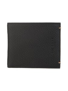 Ted Baker London - Seagul Coloured Internals Leather Bifold With Coin -nahkalompakko - 00 BLACK | Stockmann
