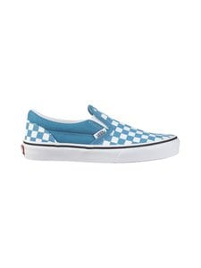 Vans - Classic Slip-On -kengät - (CHECKERBOARD) CARIBBEAN SEA/TRUE WHITE | Stockmann