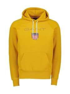 GANT - Shield Sweat -huppari - IVY GOLD | Stockmann