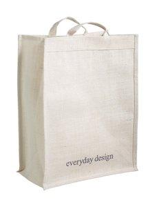 Everyday Design - Juuttikassi - LUONNONVALKOINEN | Stockmann
