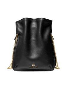 Michael Michael Kors - Tati Medium Leather Chain Shoulder Bag -nahkalaukku - 001 BLACK | Stockmann