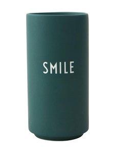 Design Letters - Favourite-maljakko, Smile - DARK GREEN | Stockmann