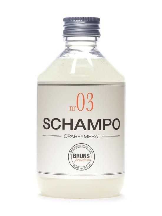 Bruns Products - Unscented Shampoo nr3 -hajusteeton shampoo 330 ml - NOCOL | Stockmann - photo 1