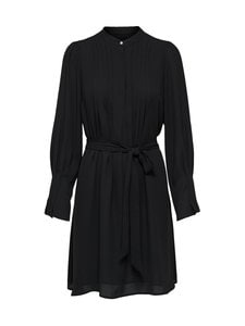 Selected - SlfLivia LS Short Dress -mekko - C-N10 BLACK | Stockmann