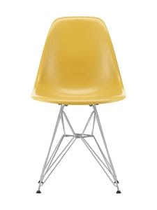 Vitra - Eames DSR Fiberglass -tuoli - 01 CHROME/LIGHT OCHRE 07 | Stockmann