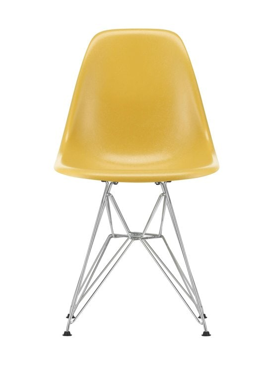 Vitra - Eames DSR Fiberglass -tuoli - 01 CHROME/LIGHT OCHRE 07 | Stockmann - photo 1
