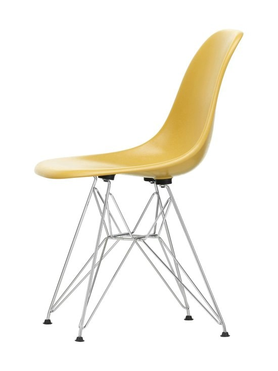 Vitra - Eames DSR Fiberglass -tuoli - 01 CHROME/LIGHT OCHRE 07 | Stockmann - photo 2