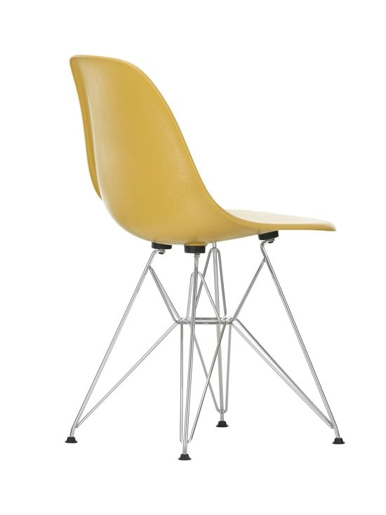 Vitra - Eames DSR Fiberglass -tuoli - 01 CHROME/LIGHT OCHRE 07 | Stockmann - photo 3