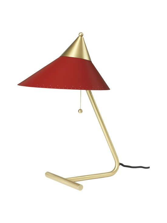 Warm Nordic - Brass Top Table Lamp -pöytävalaisin - RED GRAPE | Stockmann - photo 1