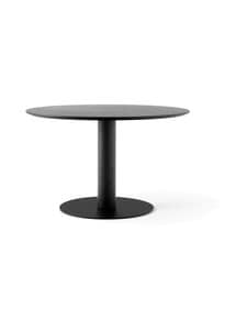 &tradition - In Between SK12 -pöytä Ø 120 cm - SMOKED OILED OAK / BLACK | Stockmann
