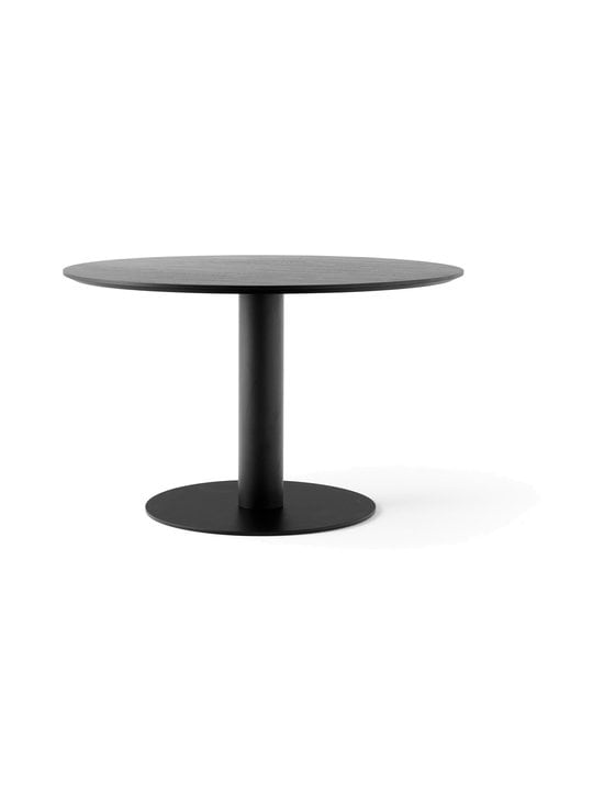 &tradition - In Between SK12 -pöytä Ø 120 cm - SMOKED OILED OAK / BLACK | Stockmann - photo 1