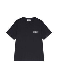 Ganni - Thin Software Jersey T-Shirt -paita - BLACK 099 | Stockmann
