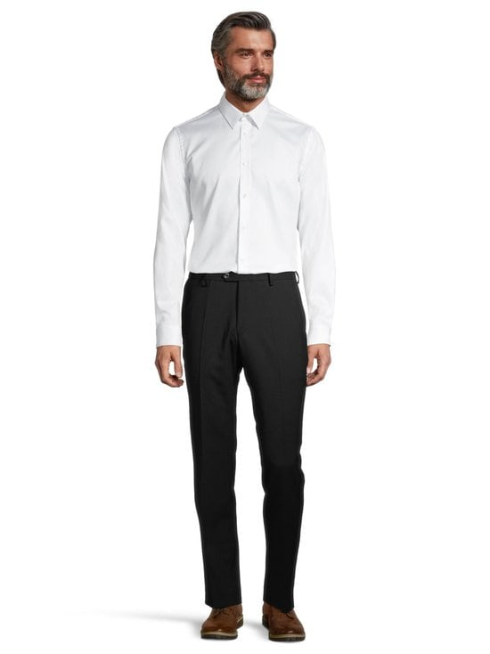 Oscar Jacobson - Diego Trousers -housut - 310 BLACK | Stockmann - photo 2