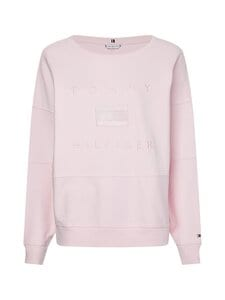Tommy Hilfiger - Relaxed Tonal Sweatshirt LS -collegepaita - TOG LIGHT PINK | Stockmann