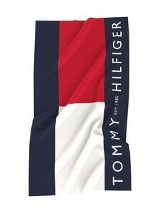 Tommy Hilfiger - Tommy Flag Large Signature -pyyhe - 01T TOMMY FLAG LARGE SIGNATURE | Stockmann