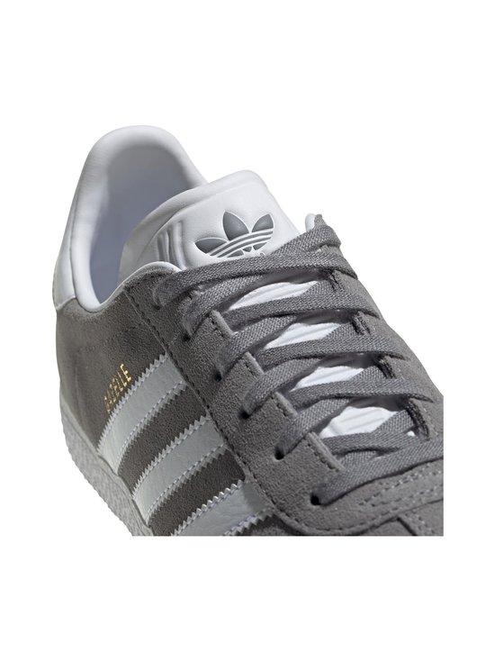adidas Originals - Gazelle J -mokkanahkatennarit - GRETHR/FTWWHT/GOLDMT | Stockmann - photo 7