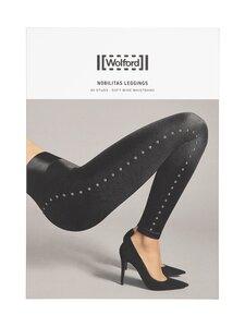 Wolford - Nobilitas-leggingsit - 8729 BLACK/GUN METAL   Stockmann