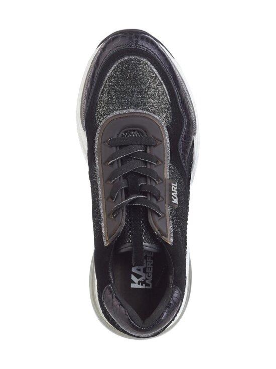 Karl Lagerfeld - Ventura Lazare Glitz -sneakerit - GOL BLACK GLITTER W/SILVER | Stockmann - photo 2