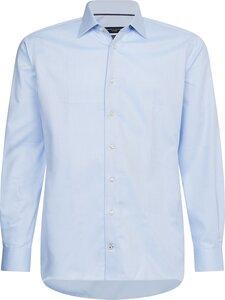 Tommy Hilfiger Tailored - Dobby Non Iron Regular Fit -kauluspaita - 0G8 LIGHT BLUE/ WHITE | Stockmann