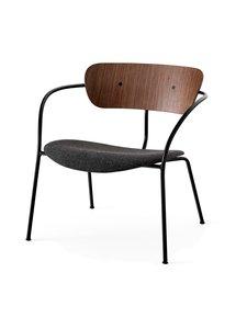 &tradition - Pavilion Lounge AV6 -tuoli - WALNUT / BLACK MELANGE | Stockmann