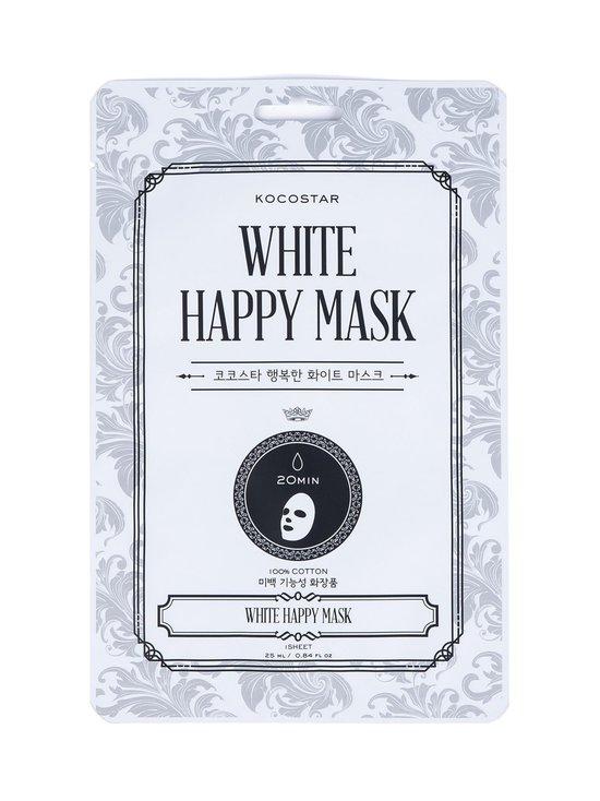 KOCOSTAR - White Happy Mask -kasvonaamio 25 ml - WHITE | Stockmann - photo 1