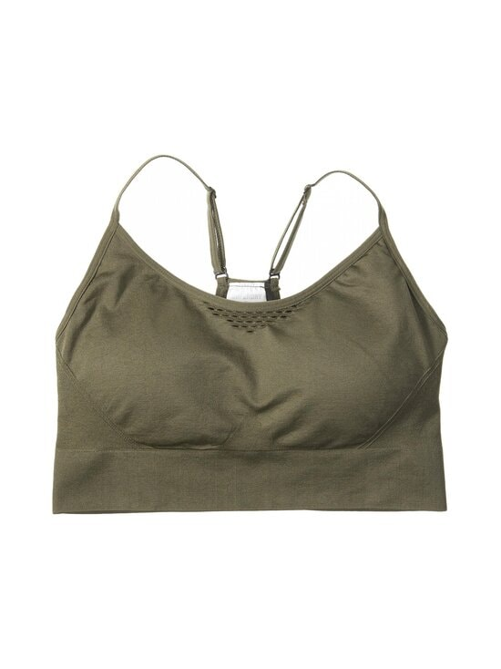 Superdry Sport - Training Seamless Contour Sports Bra -urheiluliivit - ZC3 ARMY KHAKI | Stockmann - photo 1