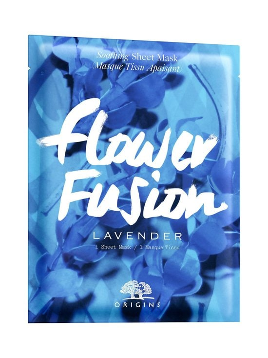 Origins - Flower Fusion™ Hydrating Sheet Mask Lavender -kasvonaamio - null | Stockmann - photo 1