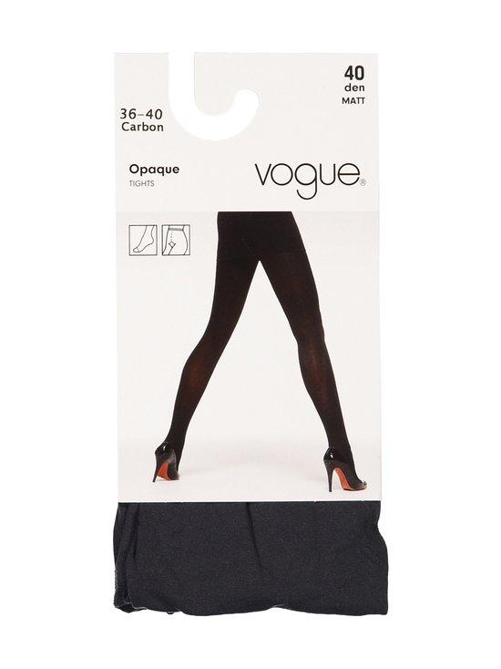 Vogue - Opaque 40 den -sukkahousut - 1191 CARBON (GREY)   Stockmann - photo 1