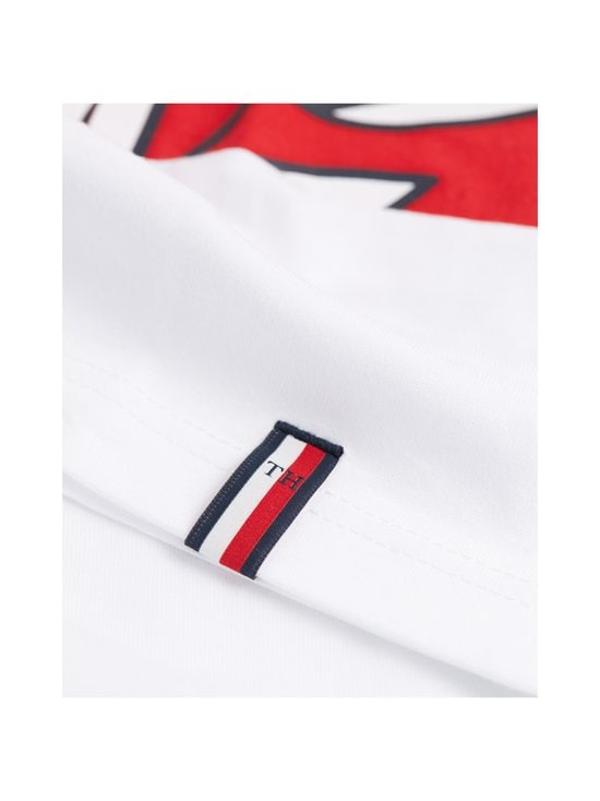 Tommy Hilfiger - Chopped Crest Relaxed Fit Tee -paita - YBR WHITE | Stockmann - photo 3