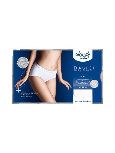 Basic+ Diamond Midi -alushousut 3-pack