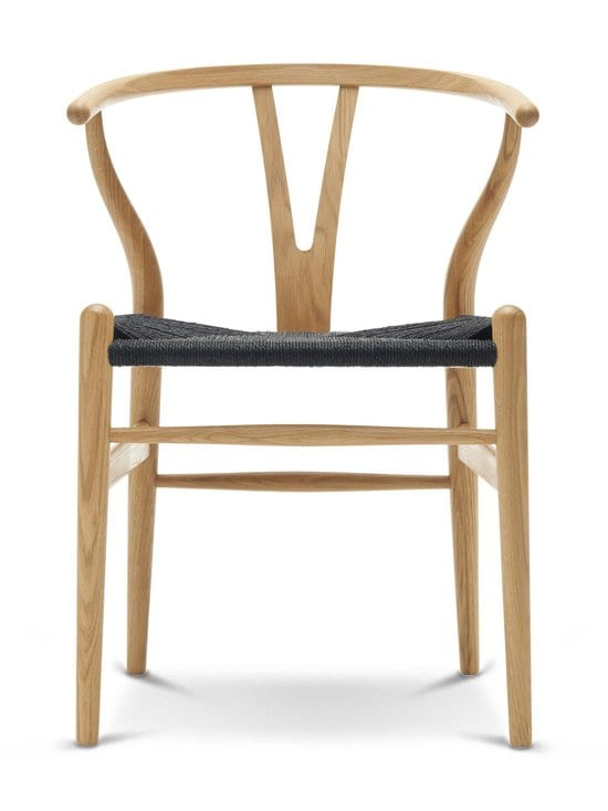 Carl Hansen&Son - CH 24 Wishbone -tuoli - MUSTA/TAMMI | Stockmann - photo 1