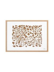 Iittala - Oiva Toikka Collection Cheetah -juliste - WHITE, BROWN | Stockmann
