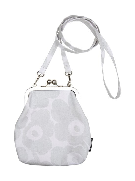 Marimekko - Roosa Mini Unikko -laukku - 990 LIGHT GREY, SILVER | Stockmann - photo 1