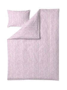 Finlayson - Tiuhta-pussilakanasetti 150 x 210 + 50 x 60 cm - PINK/WHITE   Stockmann