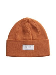 Les Deux - Merino Patch Beanie -pipo - 805805-RUSTY BROWN | Stockmann
