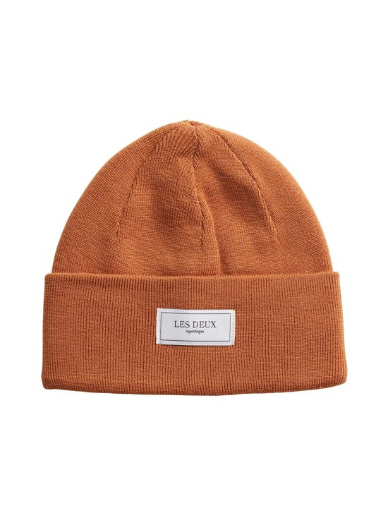 Les Deux - Merino Patch Beanie -pipo - 805805-RUSTY BROWN | Stockmann - photo 1