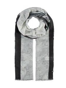 Fraas - Paisley-huivi 50 x 180cm - 010 WHITE-BLACK | Stockmann