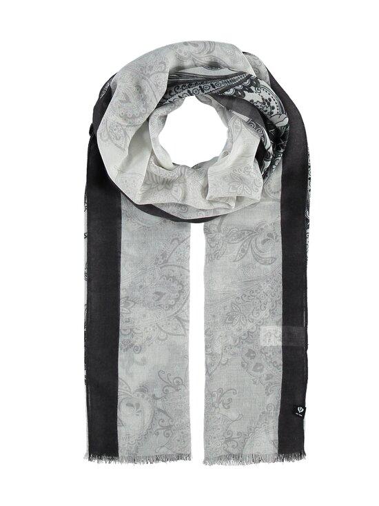 Fraas - Paisley-huivi 50 x 180cm - 010 WHITE-BLACK | Stockmann - photo 1
