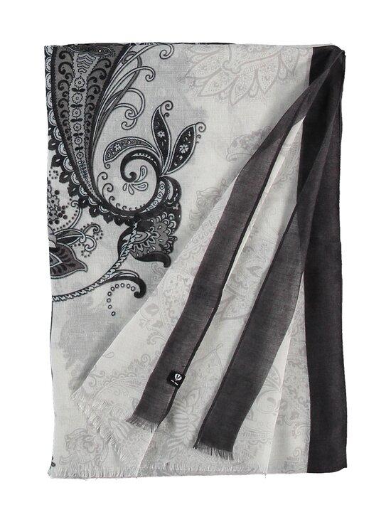 Fraas - Paisley-huivi 50 x 180cm - 010 WHITE-BLACK | Stockmann - photo 3