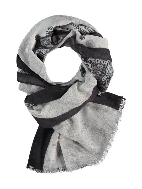 Fraas - Paisley-huivi 50 x 180cm - 010 WHITE-BLACK | Stockmann - photo 4