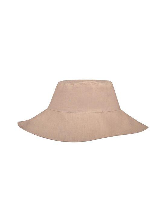 KAIKO - Boho Sun Hat -pellavahattu - D0 DUSTY PINK | Stockmann - photo 1