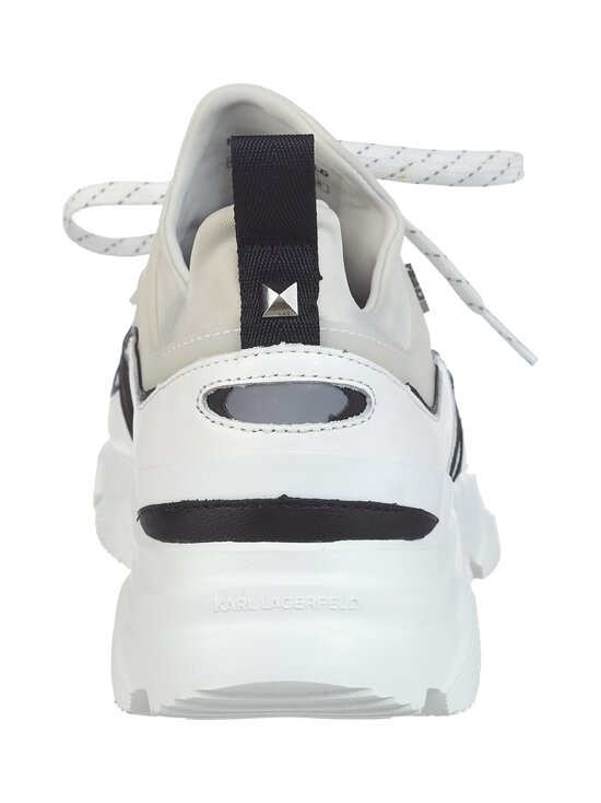 Karl Lagerfeld - Verge Lo Lace Runner Mix -sneakerit - MID GREY, WHITE 451 | Stockmann - photo 4