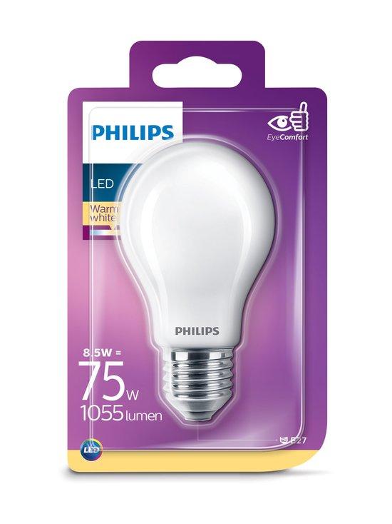 Philips - LED Classic 8,5W (75W) A60 E27 -lamppu - WHITE | Stockmann - photo 1